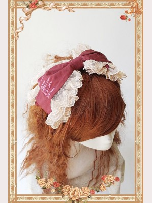 Infanta doll house Lolita headbow KC