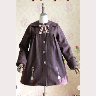 "Infanta ""Chocolate Trojan"" Lolita Coat"