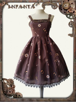 Infanta Mechanical dolls steampunk lolita dress MINI JSK