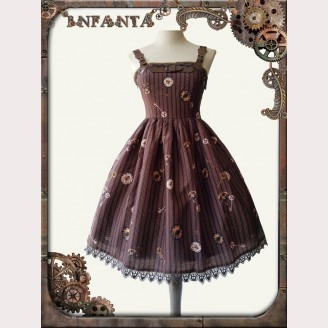 Infanta Mechanical dolls steampunk lolita dress MINI JSK