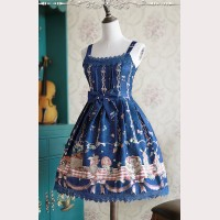 "Infanta ""Picnic Rabbit"" Daily Lolita Dress JSK"