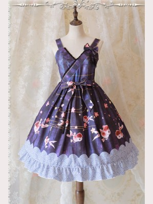 "Infanta ""Goldfish"" Lolita Dress JSK"