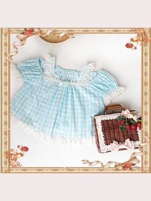 "Infanta ""Cherry Cat"" Matching Top"
