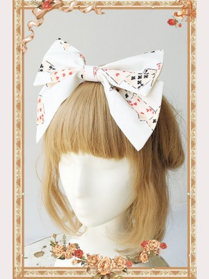 "Infanta ""Alice"" Lolita Matching headbow KC"