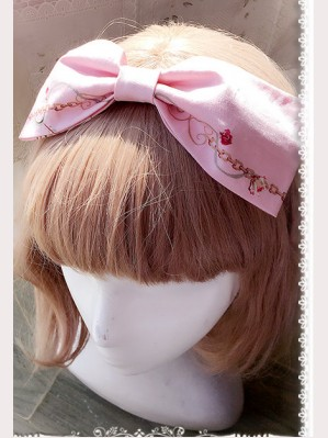 Infanta love & canary headbow (mini version)