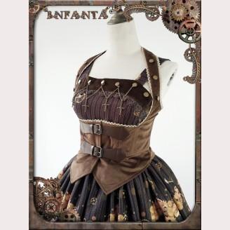 Infanta Mechanical dolls steampunk matching cross chain