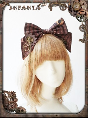 Infanta Mechanical dolls steampunk headbow KC