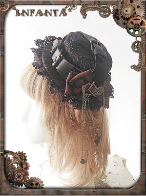 Infanta Mechanical dolls steampunk small hat