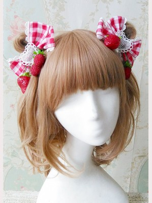 "Infanta ""Picnic Rabbit"" Matching Hairclips"