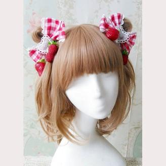 """Infanta """"Picnic Rabbit"""" Matching Hairclips"""