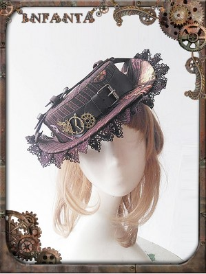Infanta Mechanical dolls steampunk big hat