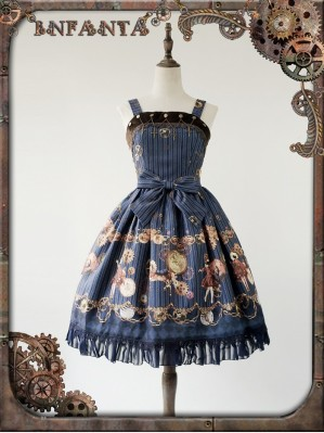 Infanta Mechanical dolls steampunk lolita dress JSK