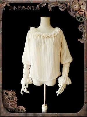 Infanta Mechanical dolls steampunk Lolita Blouse 2