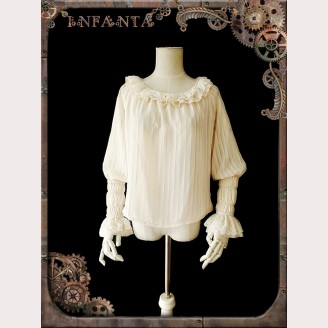 Infanta Mechanical dolls steampunk Lolita Blouse 2