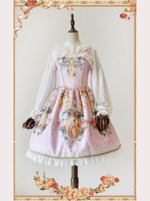 "Infanta ""The portrait of the lover"" Lolita Dress JSK"