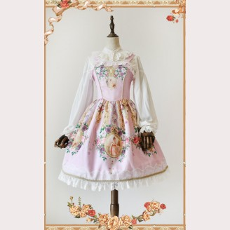"Infanta ""The portrait of the lover"" Lolita Dress JSK"