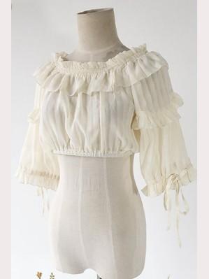 Infanta Cropped lolita blouse 4