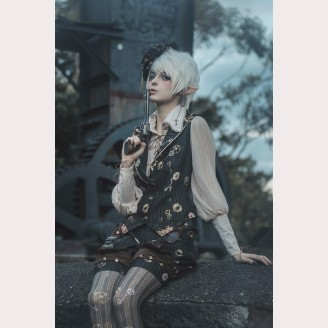 Infanta Mechanical dolls steampunk Vest / Shorts