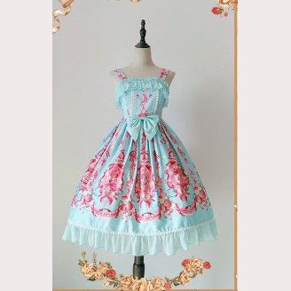 "Infanta ""Strawberry Little Chef"" lolita dress mini JSK"