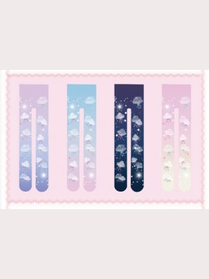 Infanta cotton candy Sweet Lolita Socks OTKs