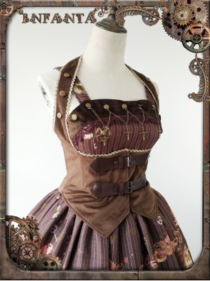 Infanta Mechanical dolls steampunk Girdle