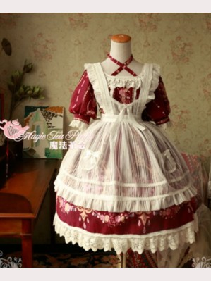 "Magic Tea Party ""Flower Fairy"" Lolita Apron"