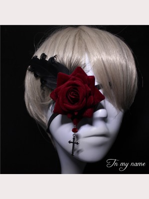 Rose Lolita Eyepatch