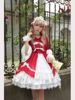 Souffle Song Ballroom dance party lolita dress OP