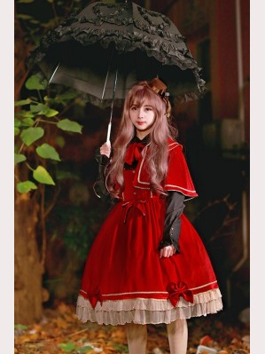 Souffle Song Holy Blessing Lolita Cape & Dress Set