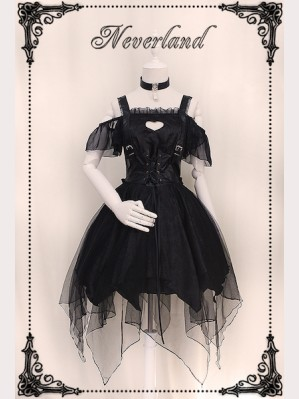 Souffle Song Ash Gothic Lolita Jumperskirt