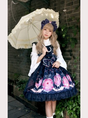 Souffle Song Beauty and The Beast Voile Lolita Dress JSK