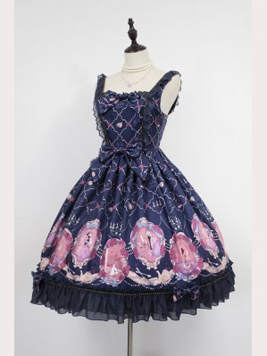 Souffle Song Beauty and The Beast lolita dress JSK