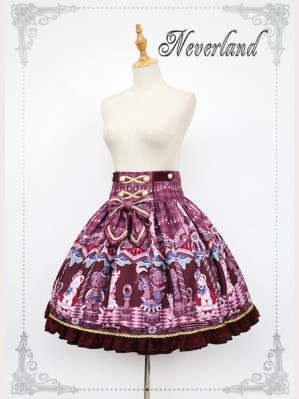 Souffle Song Chocolate Bear Lolita Skirt SK