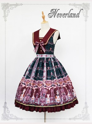 Souffle Song Chocolate Bear Lolita dress JSK