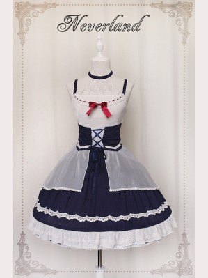Souffle Song Light & Shadow Lolita dress JSK