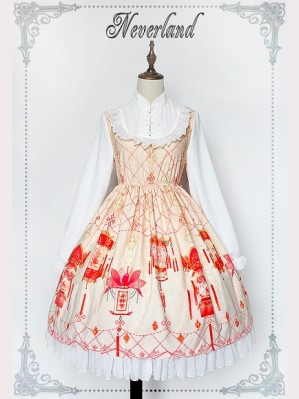 Souffle Song Palace Lantern Mid Autumn Festival Lolita Dress OP (Special Edition)
