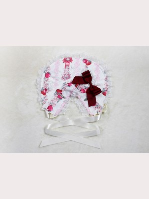 Souffle Song strawberry rabbit lolita bonnet