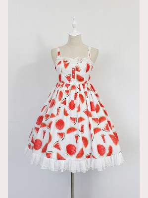 Souffle Song water melon lolita dress JSK