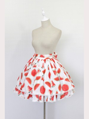 Souffle Song water melon lolita skirt SK