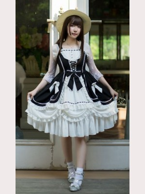 Souffle Song Antique Dolls Lolita Dress JSK - Design 3