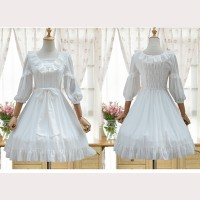 Lolita Chiffon Lace Dress OP