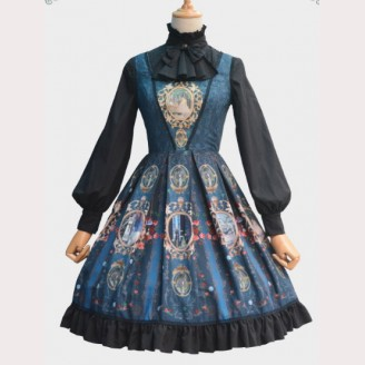"""East of the Sun, West of the Moon"" Lolita Dress JSK"