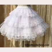 Floral Lace Lolita Petticoat (PT01)