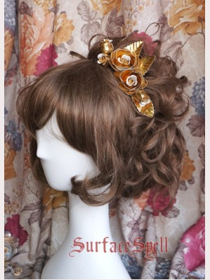 Surface Spell Color Gold / silver hairclip