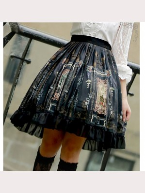 Castle Wizard Lolita Skirt