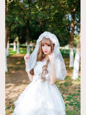 Palace Bride Lolita Veil KC