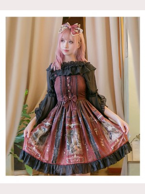 Castle Wizard Lolita Dress JSK