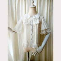 Orchid Lane Dolly Chiffon Lolita Blouse