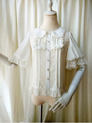 Orchid Lane Dolly Chiffon Lolita Blouse (OL1)