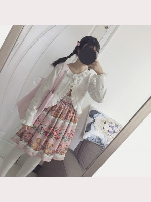 Teddy Bear Rose Garden Lolita Dress JSK